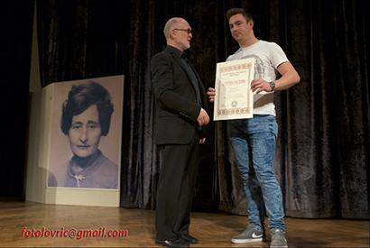 Priznanje 3.e - najbolji razred Obrtničke škole Bjelovar