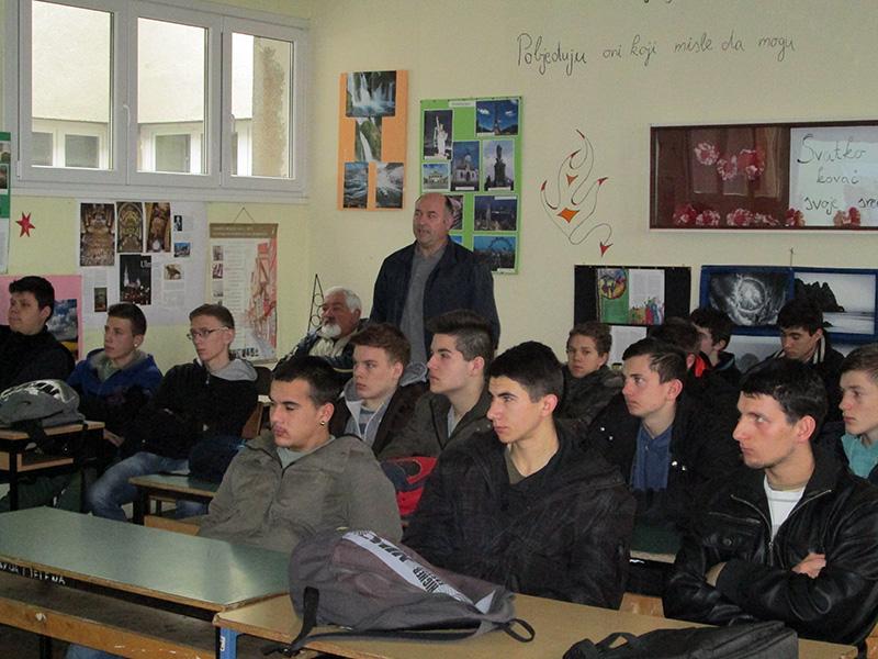 Predavanje o Bjelovarskim Graničarima Husarima
