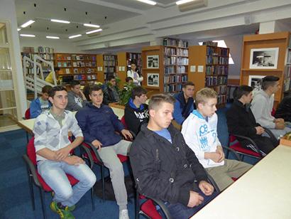 """Posjet Narodnoj knjižnici """"Petar Preradović"""" Bjelovar"""