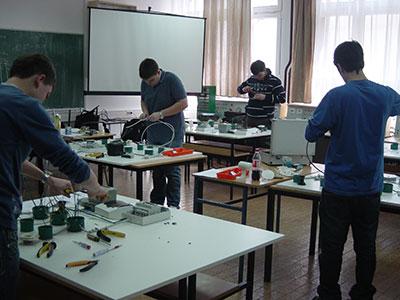 Međužupanijsko natjecanje u zanimanju elektroinstalater
