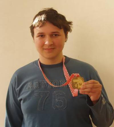TOMISLAV KURTANJEK - osvojio je 1. mjesto na Državnom natjecanju elektromehaničara