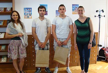 Najčitatelji u Obrtničkoj školi Bjelovar u školskoj godini 2013./14.